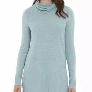Adrienne Vittadini Aqua Tunic Sweater